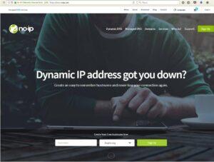 веб-ресурс noip